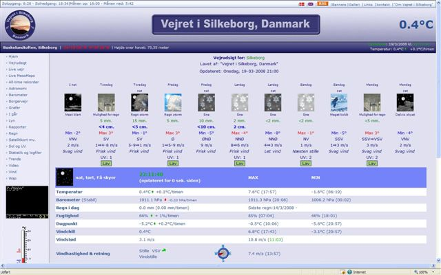 Website from 8. May 2008